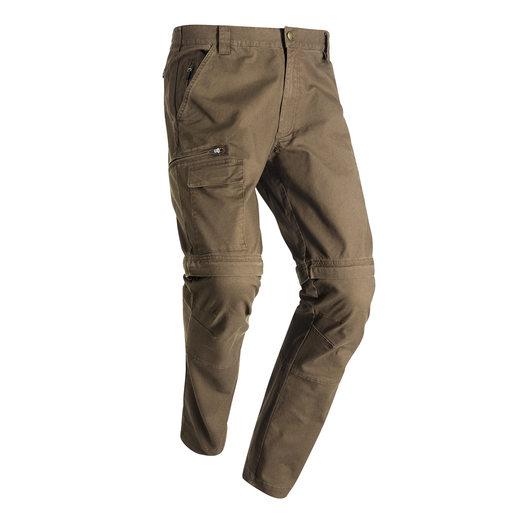 Devon Zip-Off Pant Brown vandringsbyxa med avtagbara ben