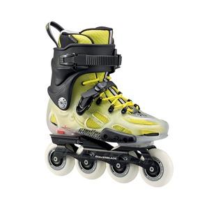 Street hockey, skateboards and rollerskates