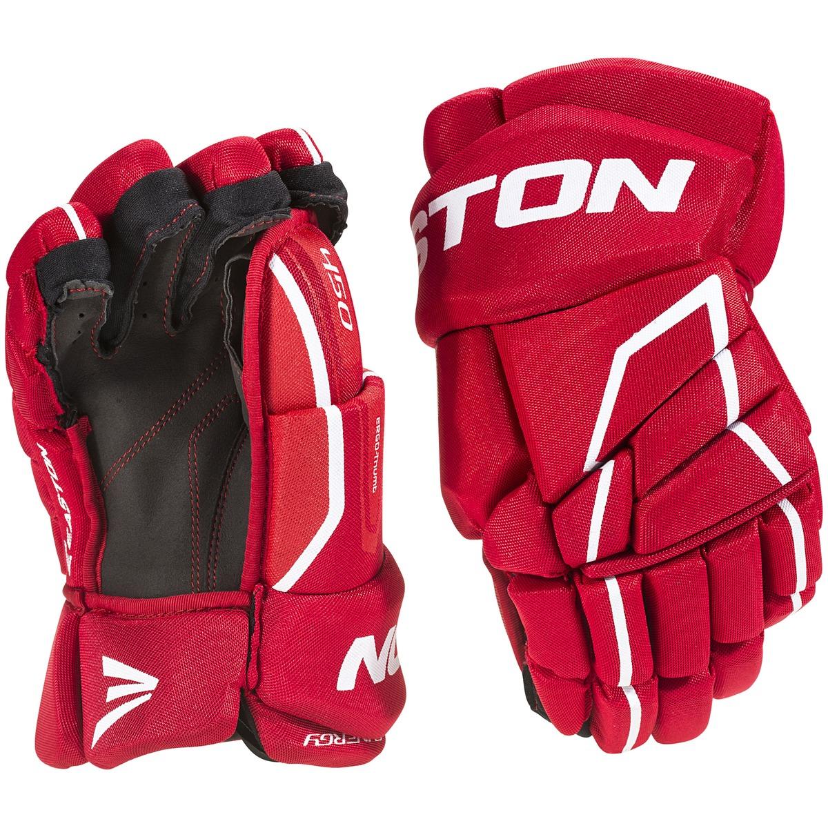 the latest 080da f5f92 röd easton synergy 450 glove sr red hockeyhandskar
