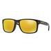 Holbrook Pol Blk w/24K Irid, solbrille