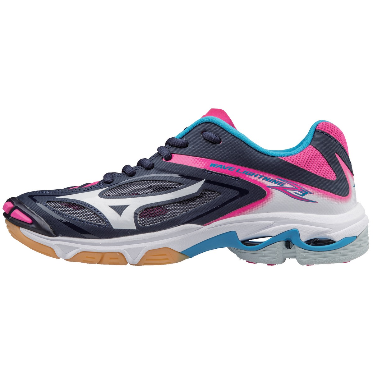 642fd60b Buy mizuno wave lightning z w rosa lime 7 meget stabil innendørssko ...