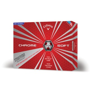 Chrome Soft 16 Truvis Red White/Red