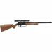 880 Rifle w/Scope, luftgevær med kikkertsikte