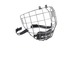 Facemask 680-17, hockeyvisir