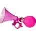 Horn for kidsbike, pink, sykkelhorn