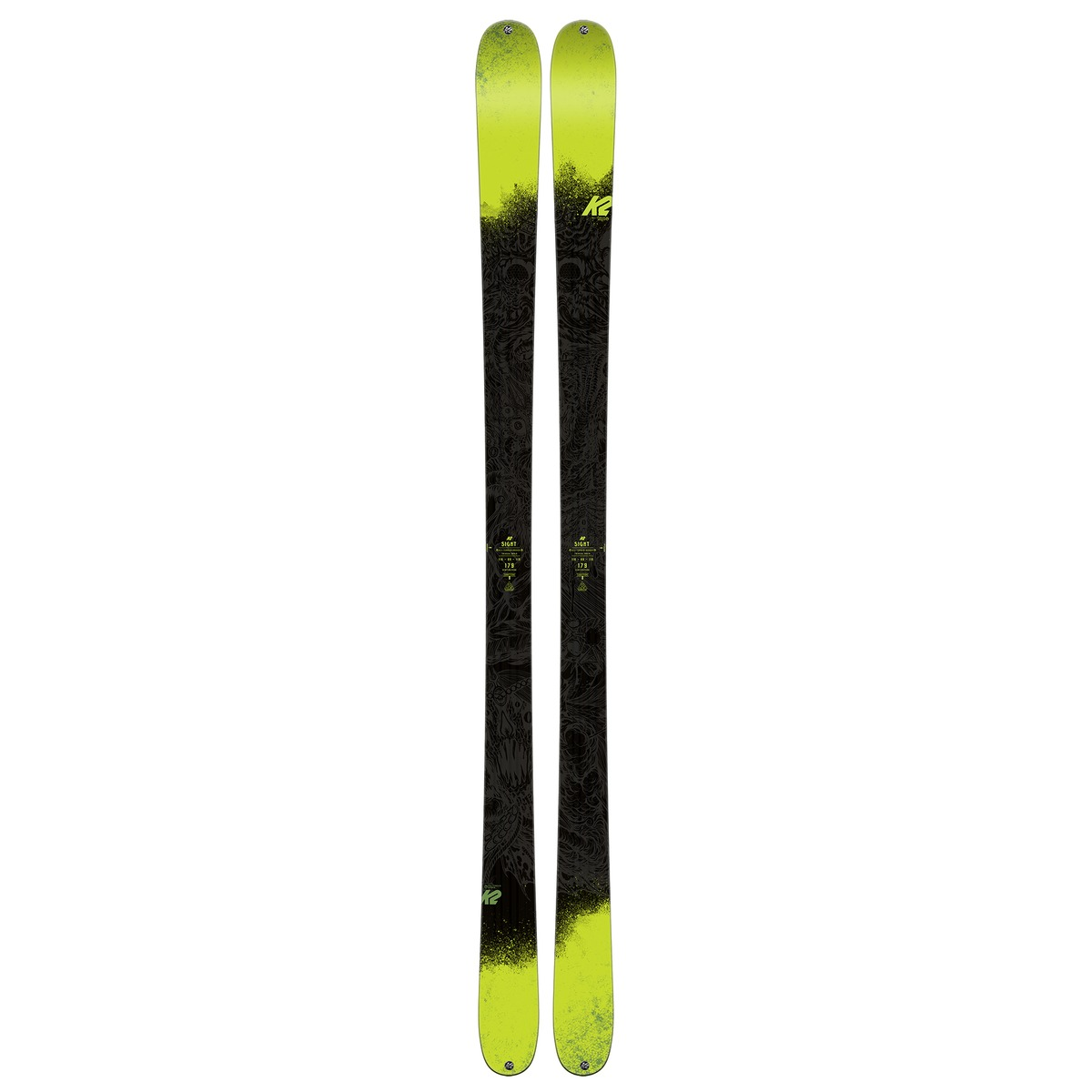 K2 Skis Sight 17/18, Twintip-Ski, Unisex -