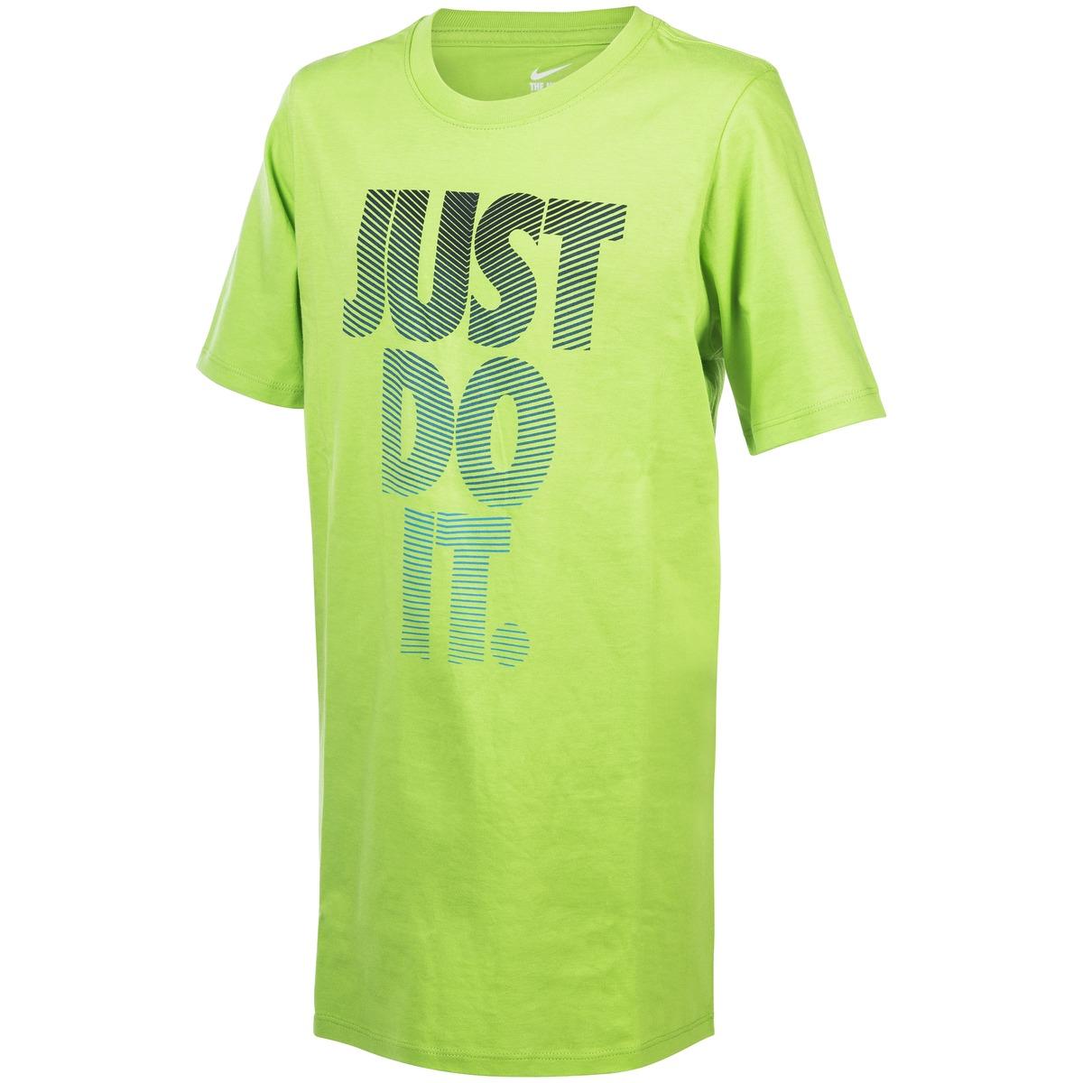 info for 24b18 c206a nike tee ribbed futura ya action green tränings t shirts barn   jr