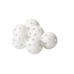 Ball Classic white 2-pack, innebandyball
