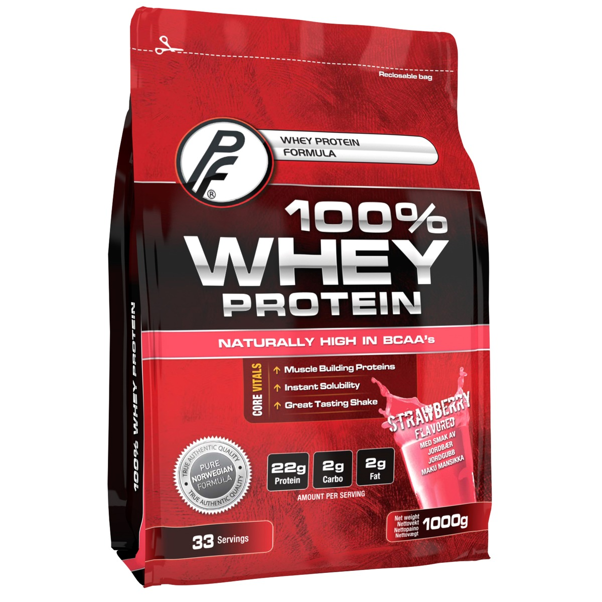 PF 100% Whey Protein