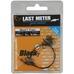 SG Black7 Trace 20cm 0.35mm 7kg Swivel/Needle Snap 3pcs BLACK