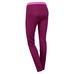 Hukkala Wool Tights W Dark purple