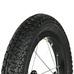 Spare Part Wheelset w/tube and tire White Run, hjulsett