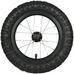 Spare Part Wheelset w/ tube and tire White 12, hjulsett