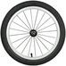 Spare Part Wheelset w/ tube/tire White 17 Ane, hjulsett