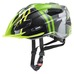 Quattro junior helmet green-anthracite