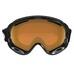 A-Frame 2.0 Jet Black w/Persimmon, alpinbrille