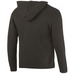 BAUER TEAM HOODY JR BLACK