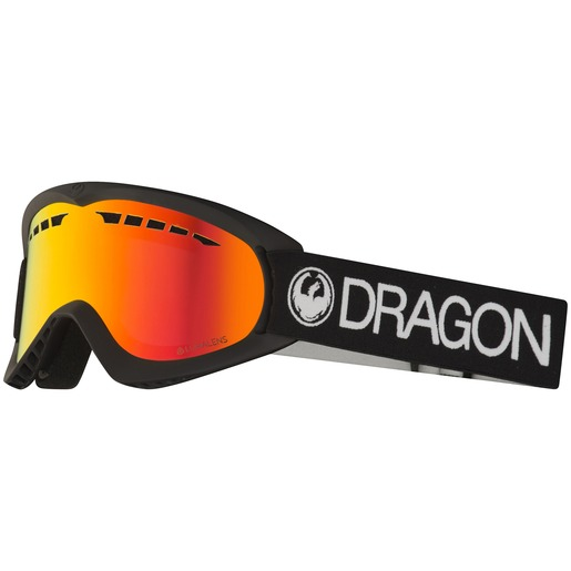 DX Black Lumalens Red Ion 18/19, alpinbrille, unisex