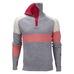 Rav Limited Sweater W/Zip Ws Grey Melange/Heady M