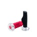 Crystal Foot Roller 17cm RED