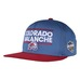 NHL CAP  GLOBAL SERIES DASSLER FLAT BRIM SNAPBACK Blue/ Burgendy Avala