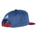 NHL CAP  GLOBAL SERIES DASSLER FLAT BRIM SNAPBACK Blue/ Burgendy Avala