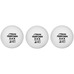 Competition boll vit, 3-pack STD