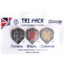 Tufftex Flights, Tri Pack (9pcs) STD