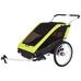 Thule Chariot CHE2 XT 17/18, sykkelvogn