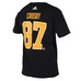 NHL SILVER TEE Name and number-18 PPE #87 CROSBY