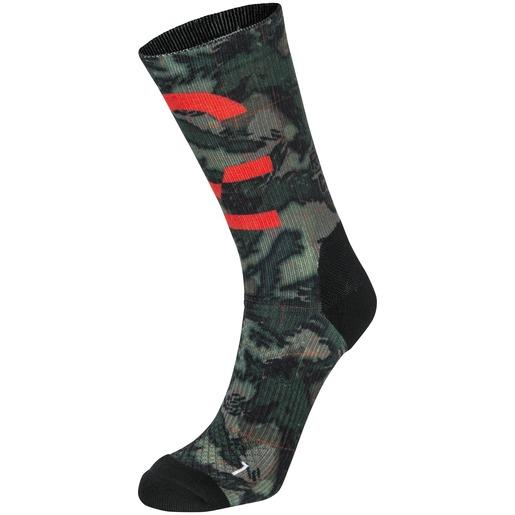 Crossfit Camo Print Crew Sock, træningssokker, unisex