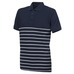 Polo Pique Striped, poloskjorte herre