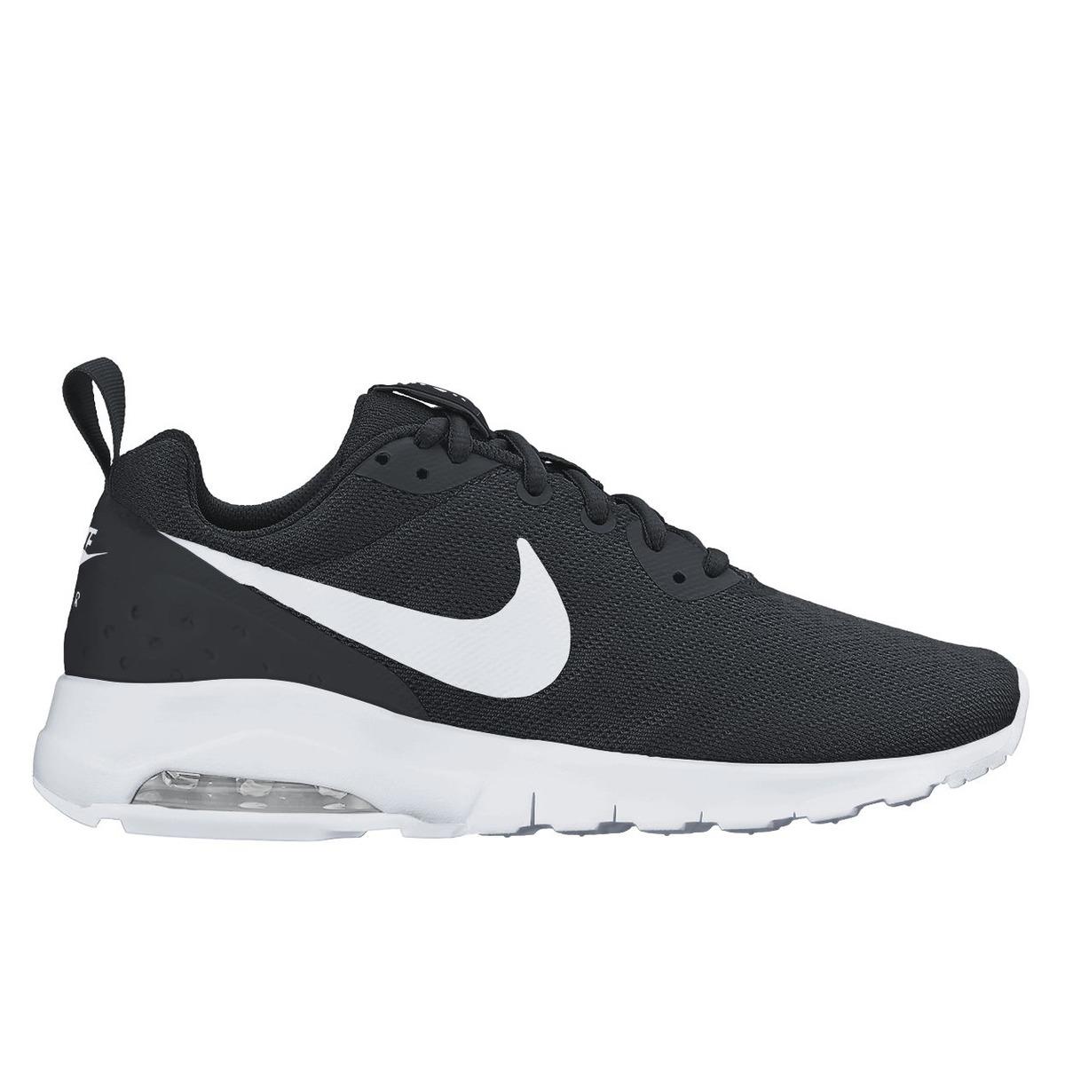 dame Svart dameXXL Nike Lwsneakers Motion Air Max Fritidssko DHI29YWE