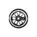 MGP Wheel CNC core black 110mm