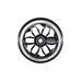 Wheel CNC core black 120 mm, potkulaudan rengas