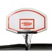 TRAMPOLINE BASKETBALL HOOP White