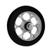 Wheel skate fast PU 100x24 alloy core, rulleskihjul 17