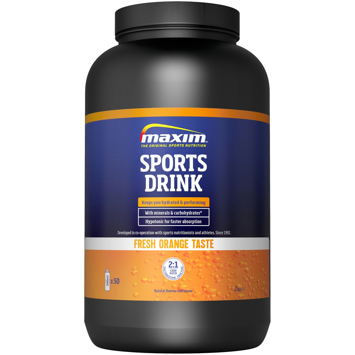 Maxim Sports Drikk 2kg Sitron