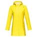Eucla PU Jacket, regnjakke dame