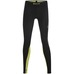DNAmic Long Tights W Black/Limoncello