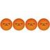 Xtreme Ddensity Ball 4-pack, rullakiekkoilupallot