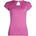 Peak To Point Short Sleeve Shirt Wmn Groovy Pink