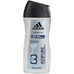 ADIDAS SHOWER GEL MEN transparent