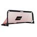 Foldable soccer goal 150x60x60cm BLACK/RED