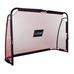 Foldable soccer goal 180x120x60cm BLACK/RED