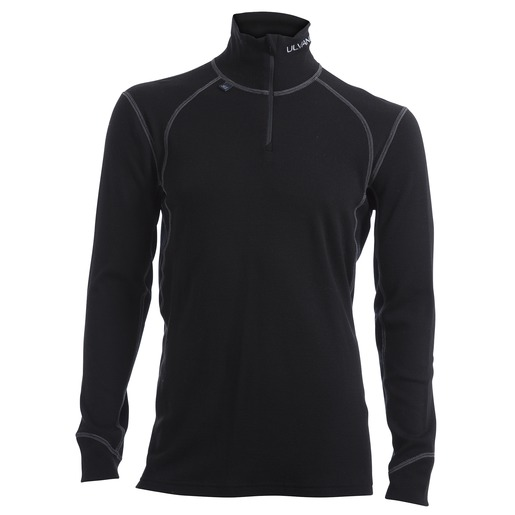 Thermo Turtle Neck Half Zip, uldtrøje herre