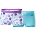 Cotton Boxer x2 Girl Purple/Mint