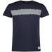 T-Shirt Mns Navy/Comb